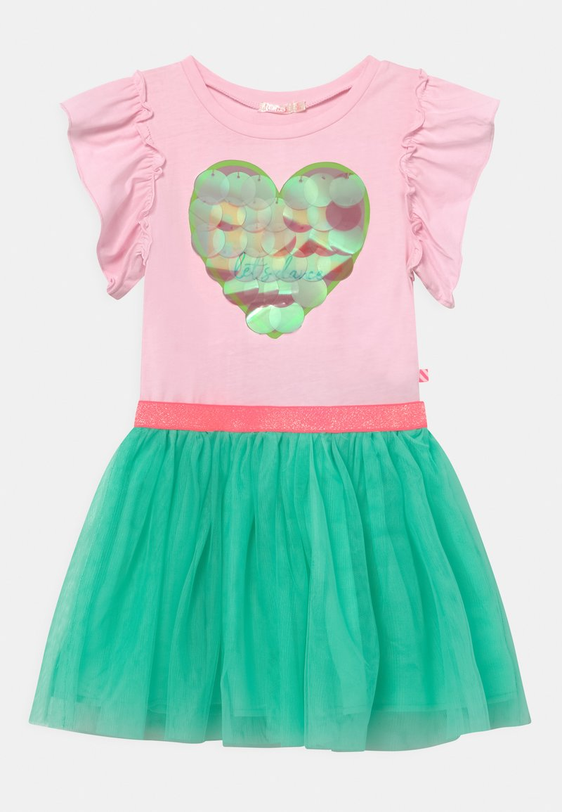 Billieblush - Jersey dress - light pink/mint