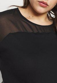 Evans - SHEER YOKE  - Print T-shirt - black - 5