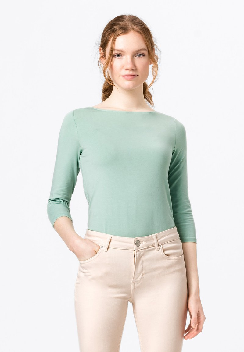 HALLHUBER - Long sleeved top - dusty mint