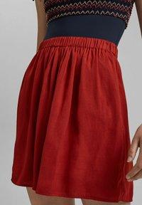 edc by Esprit - A-line skirt - terracotta - 5