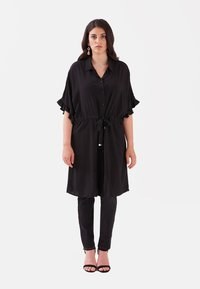 Fiorella Rubino - Shirt dress - nero - 1