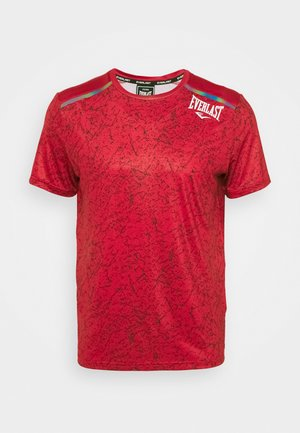 TEE GALENE - Print T-shirt - red