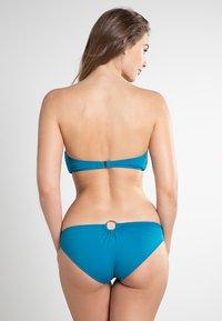 MICHAEL Michael Kors - ICONIC SOLIDS - Bikini top - teal - 2