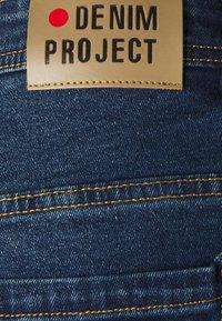 Denim Project - MR ORANGE - Jeansshort - dark blue - 2
