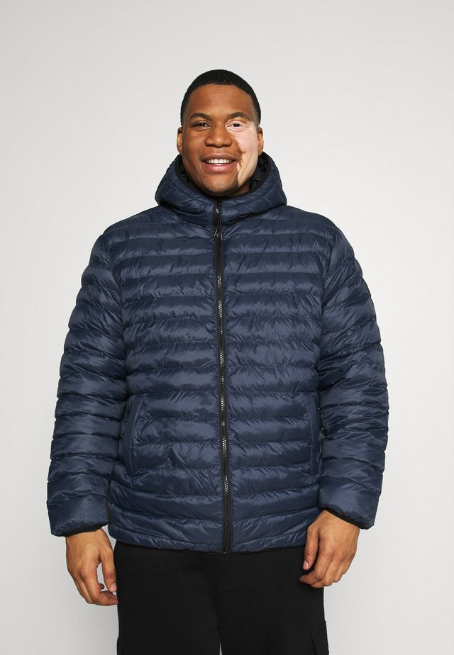 PUFFER JACKET - Giacca invernale - navy