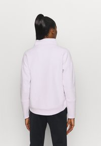 Under Armour - RECOVER WRAP NECK - Fleece jumper - crystal lilac - 2