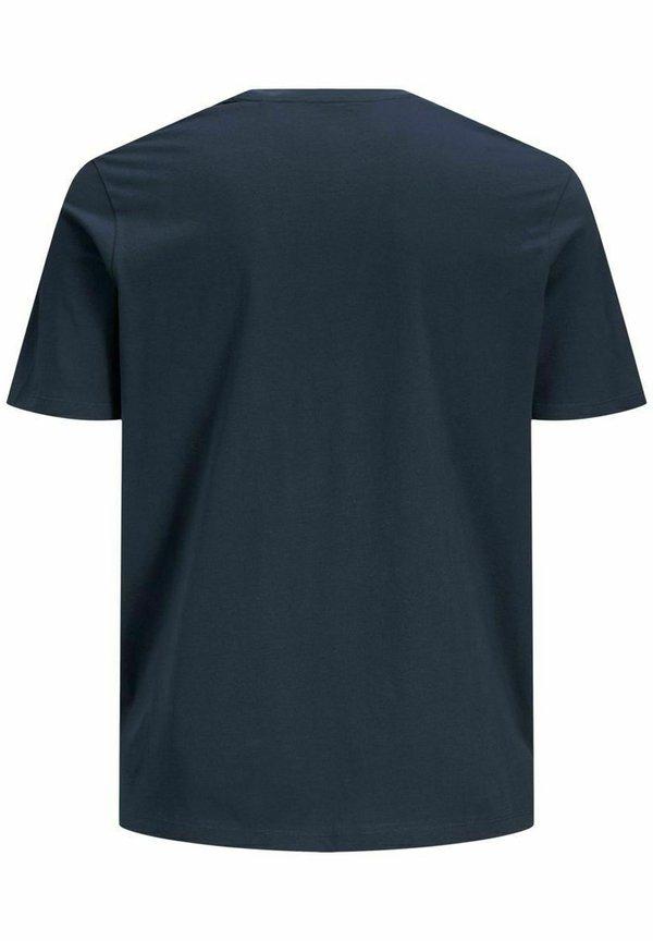 Jack & Jones T-shirt z nadrukiem - navy blazer/granatowy Odzież Męska CRAA