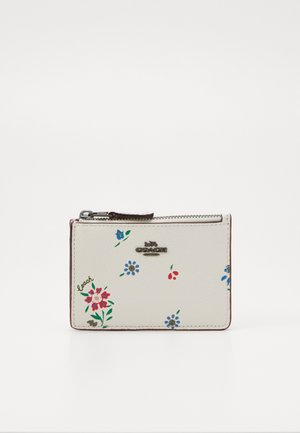 WILDFLOWER PRINT MINI ID SKINNY - Peněženka - chalk