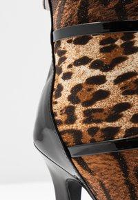 BEBO - LAVETA - High heeled ankle boots - black - 2