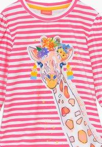 Sunuva - GIRLS LONG SLEEVE - Koszulki do surfowania - hot pink - 3