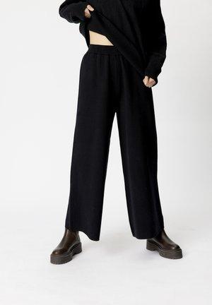 TALLIGZ  - Trousers - black