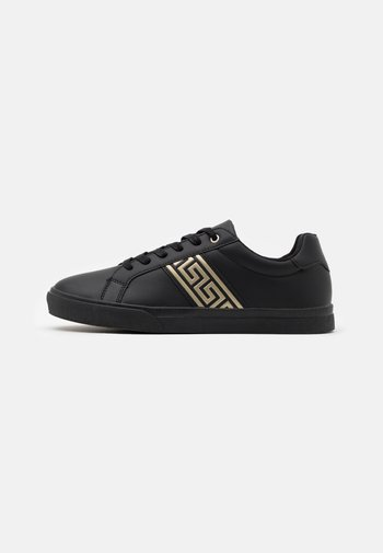 UNISEX - Sneakers laag - black/gold-coloured