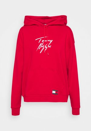HOODIE - Pyjama top - primary red