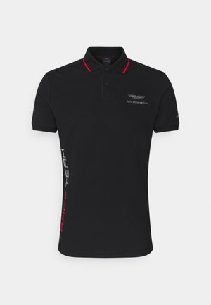AMR RACE TEAM - Polo shirt - black