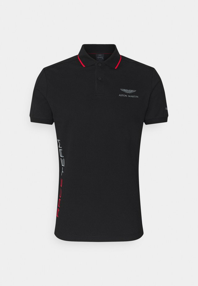 AMR RACE TEAM - Polo - black