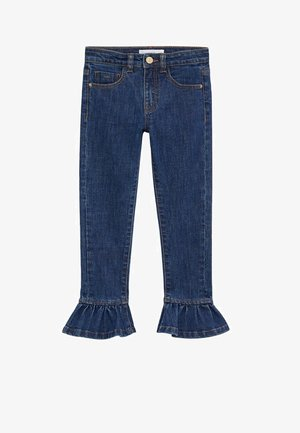 VOLANTE - Jeansy Bootcut - donkerblauw