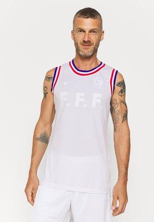 FRANKREICH FFF BBALL - Linne - white