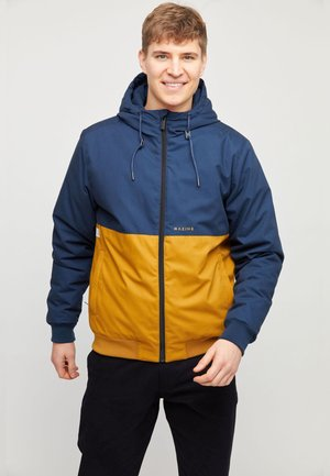 CAMPUS  - Light jacket - navy/curry