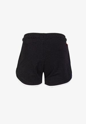 MET KLEURDETAIL - Shorts - black