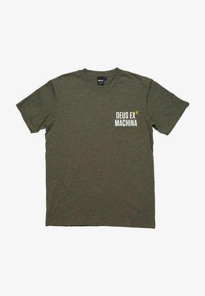 PANORAMA - Print T-shirt - dark olive