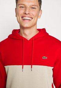 Lacoste - Sweatshirt - red/viennese/navy blue - 6