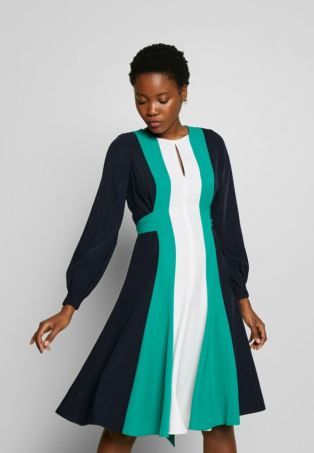 LYLA DRESS - Day dress - navy multi