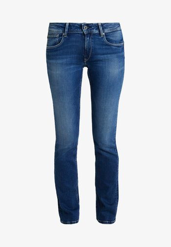 HOLLY - Straight leg jeans - stone blue denim