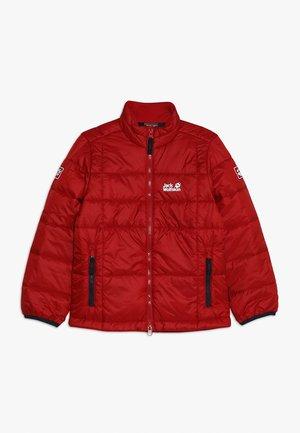 ARGON JACKET KIDS - Outdoorová bunda - red lacquer