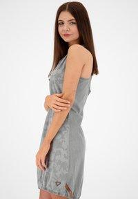 alife & kickin - Denim dress - light grey denim - 3