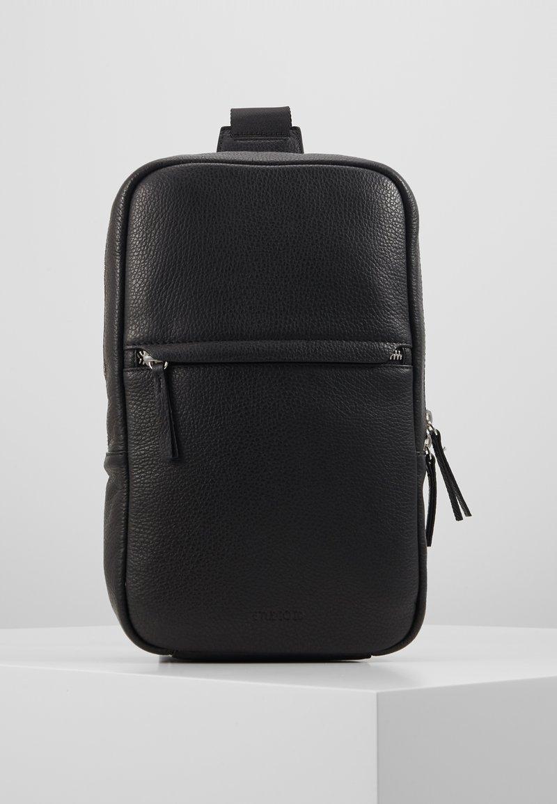 STUDIO ID - CROSSBODY BACK BAG - Sac bandoulière - black