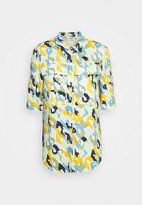 Button-down blouse - multi colour