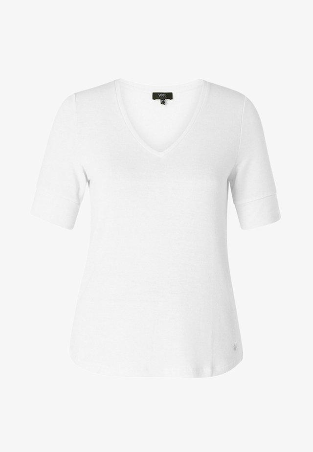 ISAURA - T-shirt basic - white