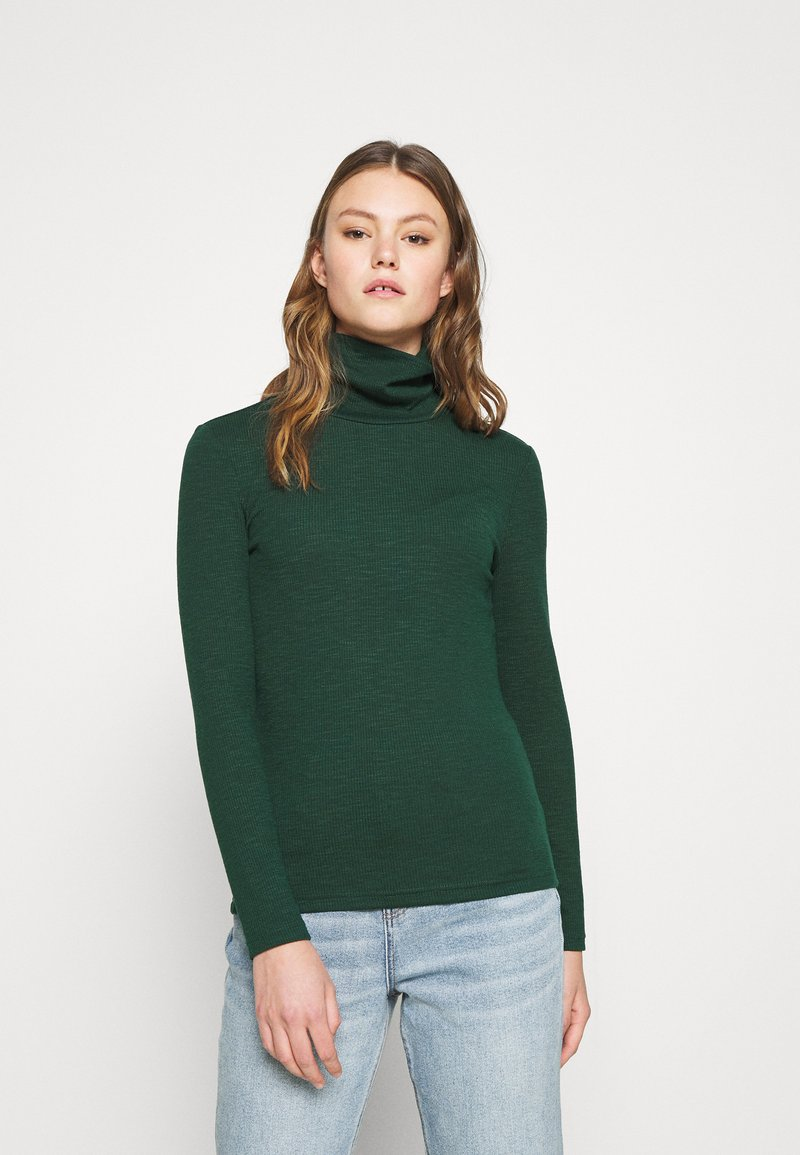 ONLY - ONLJOANNA ROLLNECK  - Long sleeved top - pine grove