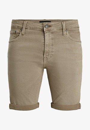 JJIRICK JJICON SHORTS AMA  - Shorts vaqueros - braun