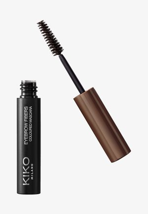 EYEBROW FIBERS COLOURED MASCARA - Eyebrow gel - 05 deep brunettes