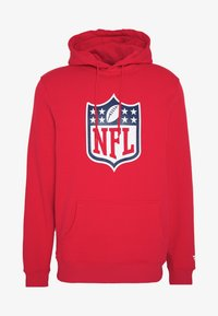Fanatics - NFL ICONIC SECONDARY LOGO GRAPHIC HOODIE - Bluza z kapturem - uni red - 3