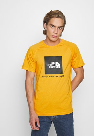 RAGLAN TEE  - T-Shirt print - summit gold