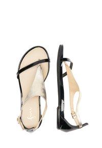 IZIA - T-bar sandals - gold - 2