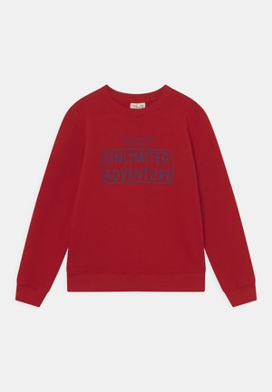 KID ROUND NECK - Sweater - scarlet sage
