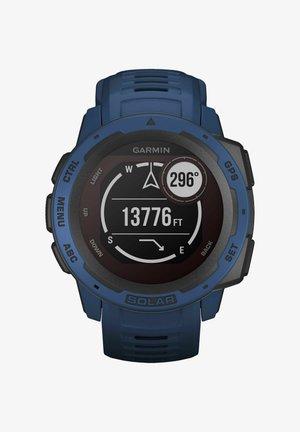 INSTINCT SOLAR - Smartwatch - blau