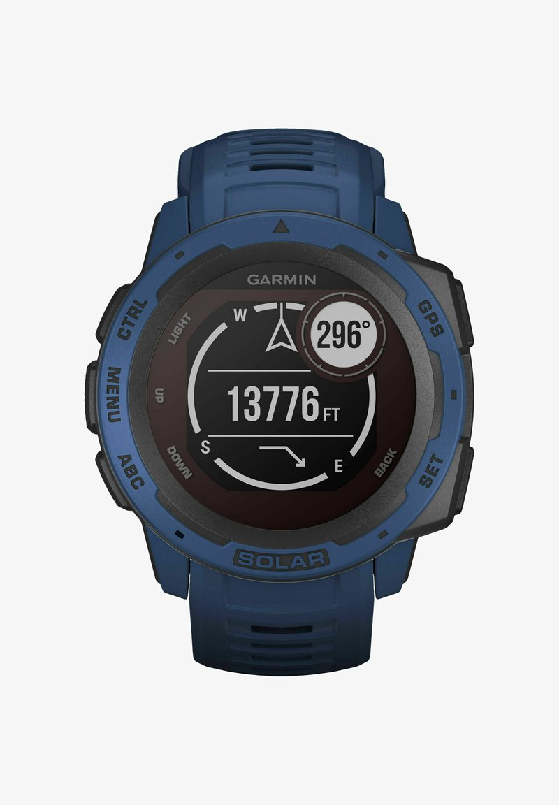 Garmin - INSTINCT SOLAR - Smartwatch - blau