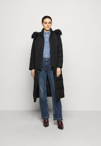 Lauren Ralph Lauren - HAND MAXI COAT - Down coat - black - 1