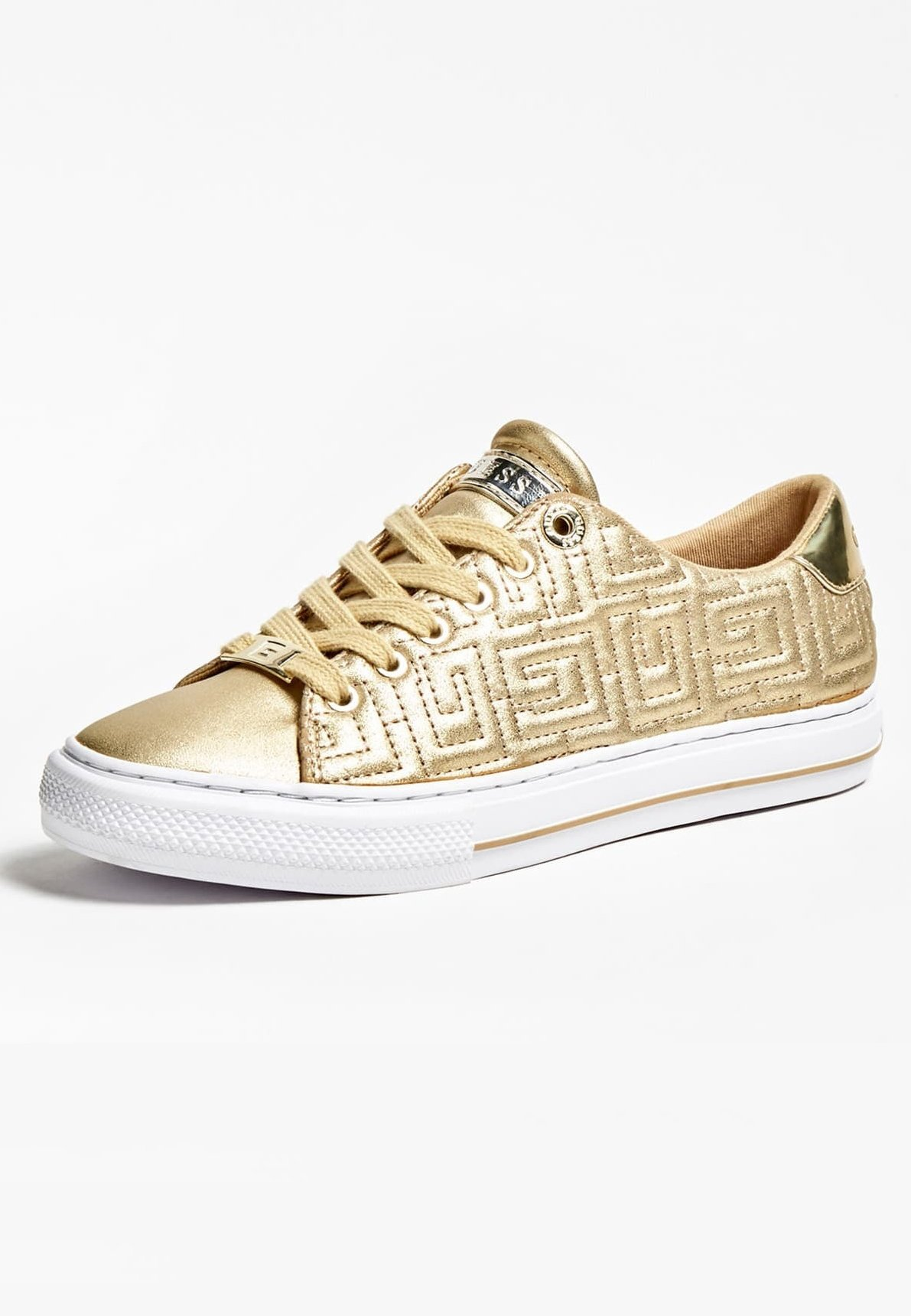 Guess Sneaker low goldenfarbe/gold