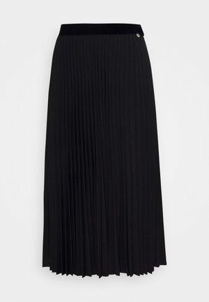 PLISSEE SKIRT - A-line skirt - black