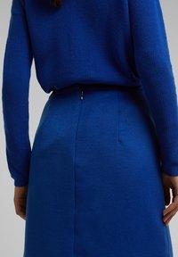 Esprit Collection - A-line skirt - bright blue - 7