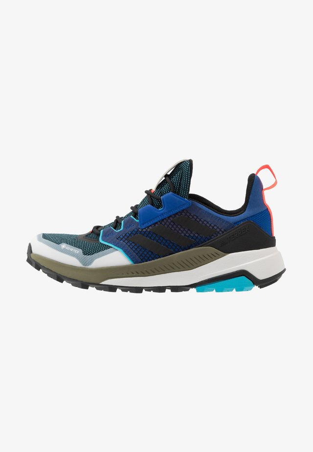 TERREX TRAILMAKER GTX - Obuwie hikingowe - royal blue/core black/signal cyan