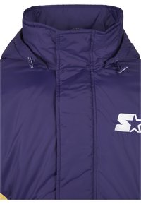 Starter - Winter jacket - starter purple/wht/buff yellow - 8