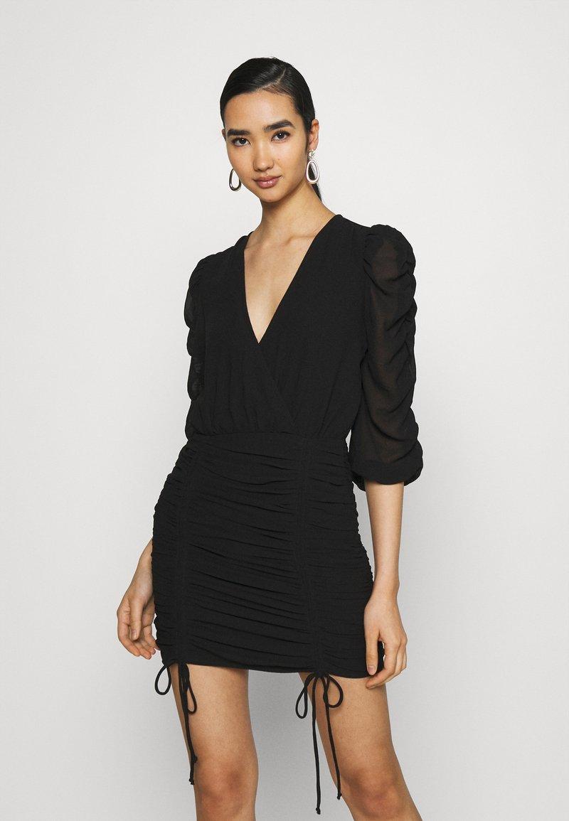 Gina Tricot - MICHELLE DRESS - Juhlamekko - black