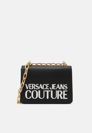 CROSS BODY FLAP CHAINMACROLOGO - Across body bag - nero