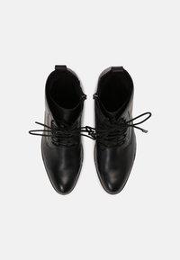 Marco Tozzi - Šněrovací kotníkové boty - black - 5